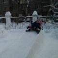 Фотоотчёт «Мы любим зиму снежную»
