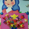 Коллективная работа к 8 Марта «Букет тюльпанов»