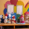 Творческая работа родителей и детей «Парад снеговиков»