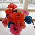 «Цветы для любимой мамочки». Мастер-класс по изготовлению цветов для мамы. Средняя группа
