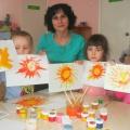 Проект «Развитие творческих способностей детей по средствам применения нетрадиционных техник рисования»