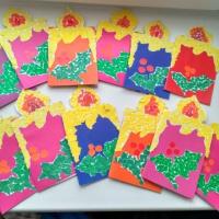 Мастер-класс по изготовлению открытки или приглашения к Новому Году «Цветики»