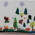 Многофункциональное сенсомоторное панно «Животные из сказок»