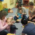 Сценарий мастер-класса для родителей и детей со сложной структурой дефекта. «Новогодние украшения своими руками»