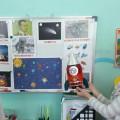 «Завораживающий космос». Конспект интегрированной НОД по рисованию в нетрадиционной технике граттаж