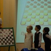 Фотоотчет «Обучающий турнир по шашкам для воспитанников старших-подготовительных групп»