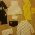 Мастер-класс по изготовлению дидактической игры для детей раннего возраста «Подбери материал к одежде»