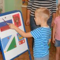 Фотоотчет «Презентация уголка нравственно-патриотического воспитания»