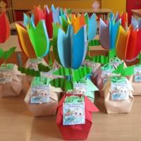 Мастер-класс по оригами к Дню дошкольного работника «Цветик-семицветик» с детьми 5–6 лет