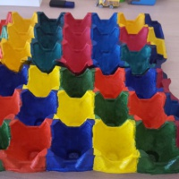 Дидактические игры по математике с использованием контейнера для яиц