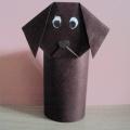 Мастер-класс «Собачка» из бумаги