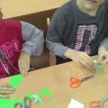 Конспект НОД по экологии и аппликации с элементами оригами, с использованием бросового материала «На пороге Новый год»