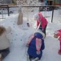 Фотоотчет. Снежные постройки «А у нас во дворе»