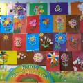Мастер-класс «Волшебные цветы» для родителей и детей старшей группы