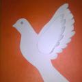 Конспект НОД по аппликации в старшей группе «Белые голуби»
