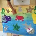 Фотоотчет о реализации педагогического проекта «Морские обитатели»