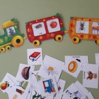 Дидактическая игра с элементами ТРИЗ-технологии «Веселый паровозик»