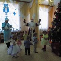 Фотоотчет о новогоднем празднике «Добрый Дедушка Мороз»