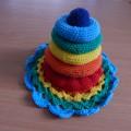 Дидактическая игра «Радужная пирамидка»