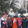 Постройка из снега «Снежная крепость». Конкурс снежных построек
