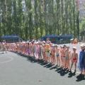 Фотоотчет о проведении летнего развлечения «День Нептуна»