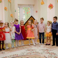 Фотоотчет об осеннем празднике-развлечении в подготовительной группе