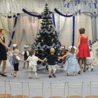 Оформление новогоднего музыкального зала