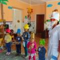 Фотоотчет о развлечении в средней группе «День здоровья»