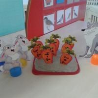 Дидактическая игра «Зайкина морковка. Состав числа в пределах 5»