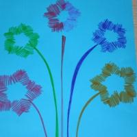 Фотоотчет о совместной деятельности воспитателя и детей второй младшей группы по рисованию на тему «Праздничный салют»