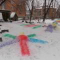 Оформление зимнего участка «Территория детства»