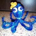 Мастер-класс «Осьминог из синельной проволоки»