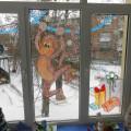 Конкурс оформления в ДОУ «Зимняя сказка» (фотоотчет)