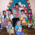Фотоотчет о проекте «Матрёшка» младшая группа