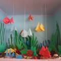 Конспект НОД по конструированию из бумаги в старшей группе «Рыбки в аквариуме»