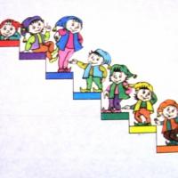 Музыкально-дидактическая игра «Я шагаю вверх»