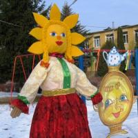 Фотоотчёт о праздновании Масленицы
