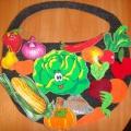 Развивающая игра «Корзина для овощей и фруктов»
