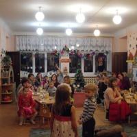 Фотоотчет «Рождественское чаепитие» Старшая группа