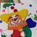 Поделка из бросового материала «Клоун»