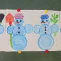 «Снеговик». Интегрированное занятие (младшая разновозрастная группа)