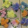 Корзиночки с цветами из салфеток. Наши подарки сотрудникам детского сада на выпускной