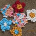 Аппликация из салфеток «Цветы небывалой красоты»— с детьми 3–4 лет.