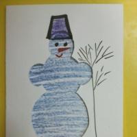 Мастер-класс «Снеговик» в младшей группе