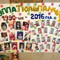 Поздравляем мам и бабушек с 8 марта— стенгазета