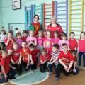 Соревнование между первоклассниками и воспитанниками дошкольных групп. Фотоотчёт