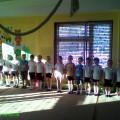 Спортивный досуг «Школа юных пожарных»
