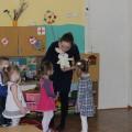 Открытое мероприятие для педагогов ДОУ в первой младшей группе «Горошек для зайчика»