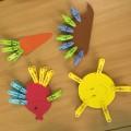 Занятие для детей с использованием прищепок (фотоотчет)