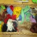 Мастер-класс по изготовлению картины из цветной шерсти «Листик клёна»